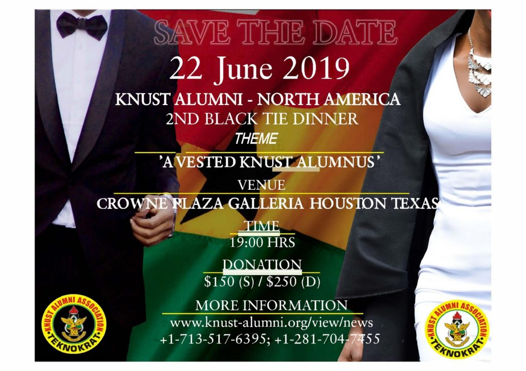 2019 Black Tie Gala, Houston TX – 22 June 2019 | KNUST Alumni